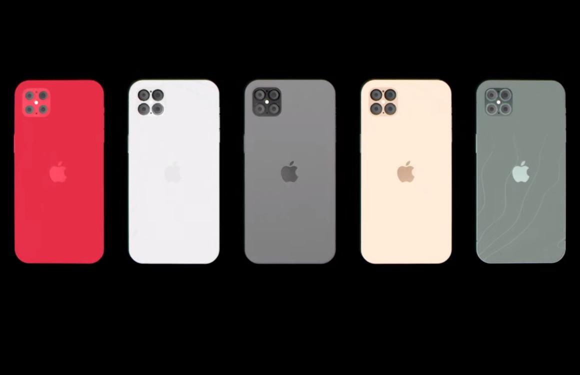 iPhone 12 Pro-concept uitgelicht