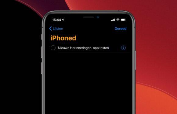 7 handige nieuwe features in de Herinneringen-app van iOS 13