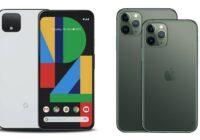 iPhone 11 (Pro) vs Google Pixel 4 (XL): iOS- en Android-toppers vergeleken