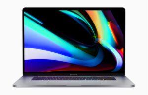 MacBook Pro 16-inch officieel
