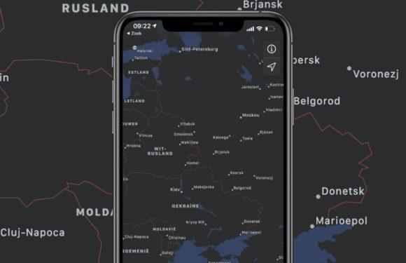 Update: Apple zwicht voor Russische overheid, past Apple Maps aan