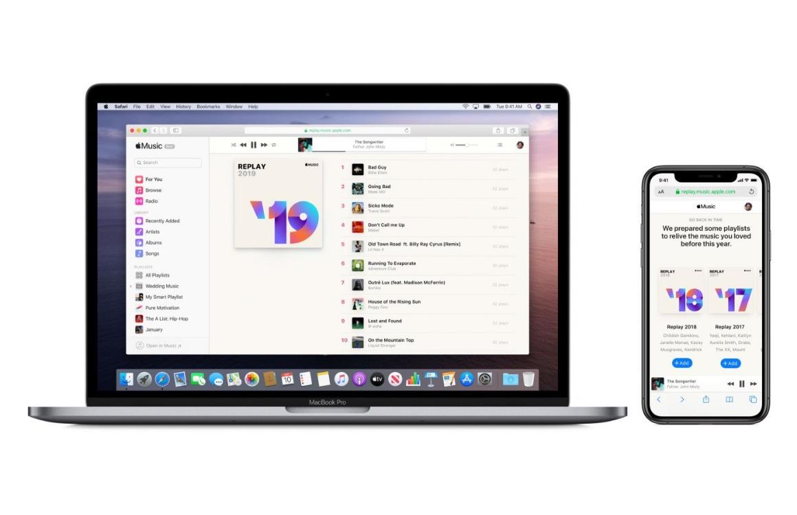 Replay: Bekijk je Apple Music-jaaroverzicht van 2019