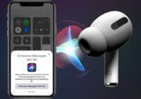 Tip: Zo laat je Siri je berichten voorlezen met AirPods of Beats-oordopjes
