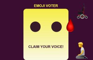 emoji voter
