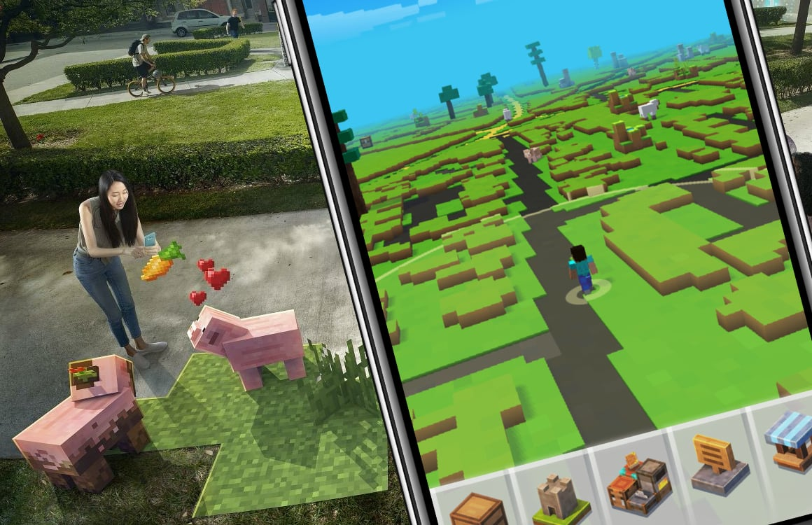 Review: Minecraft: Earth Early Access is nu al de moeite waard