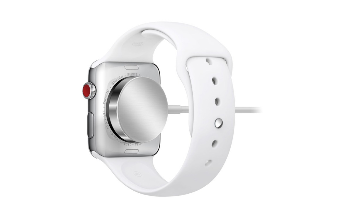 apple watch opladen