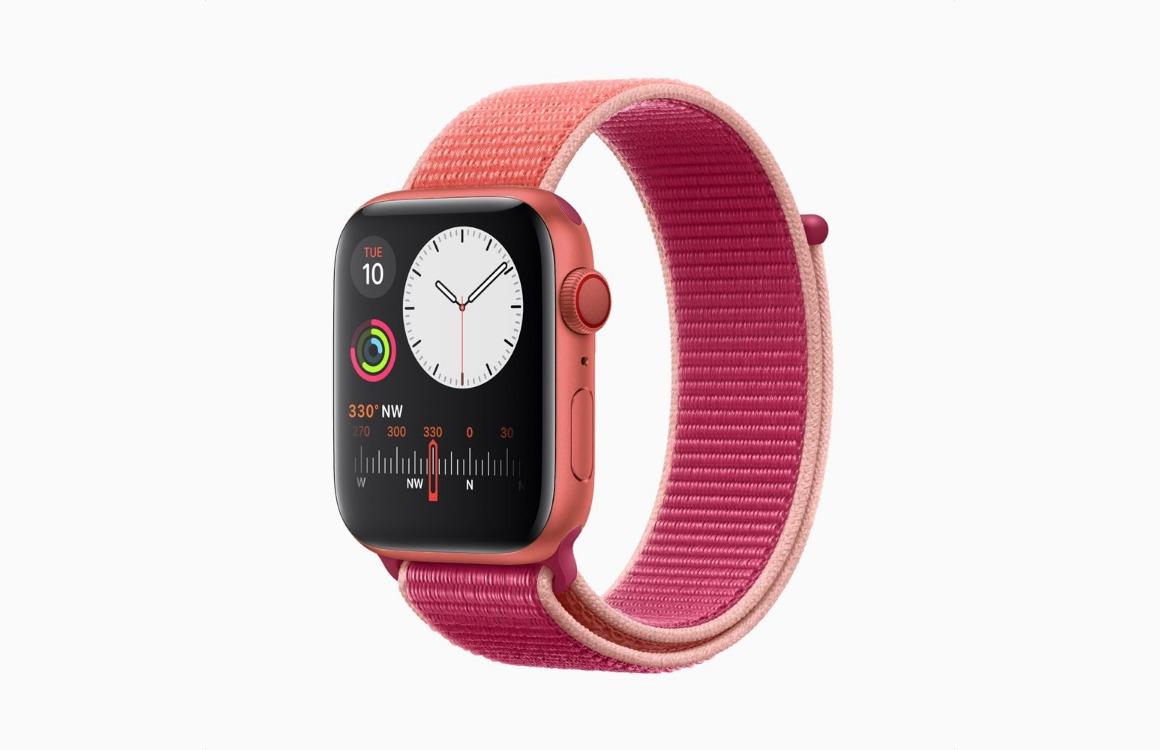 Gerucht: Apple brengt in 2020 speciale rode versie van Apple Watch Series 5 uit