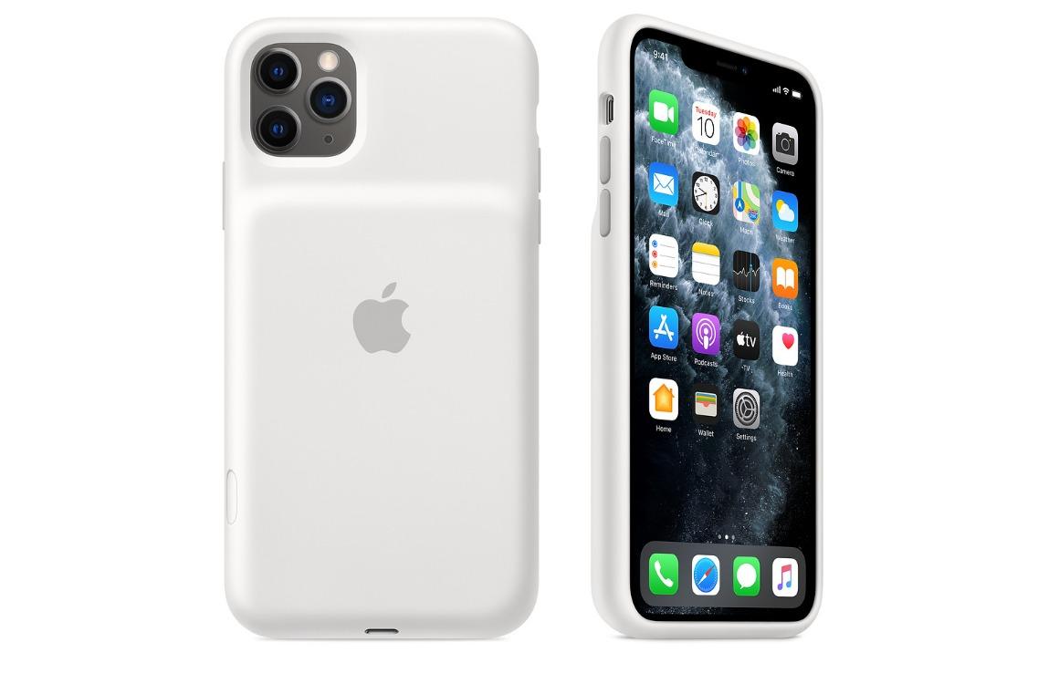 cameraknop iphone 11 pro smart battery case