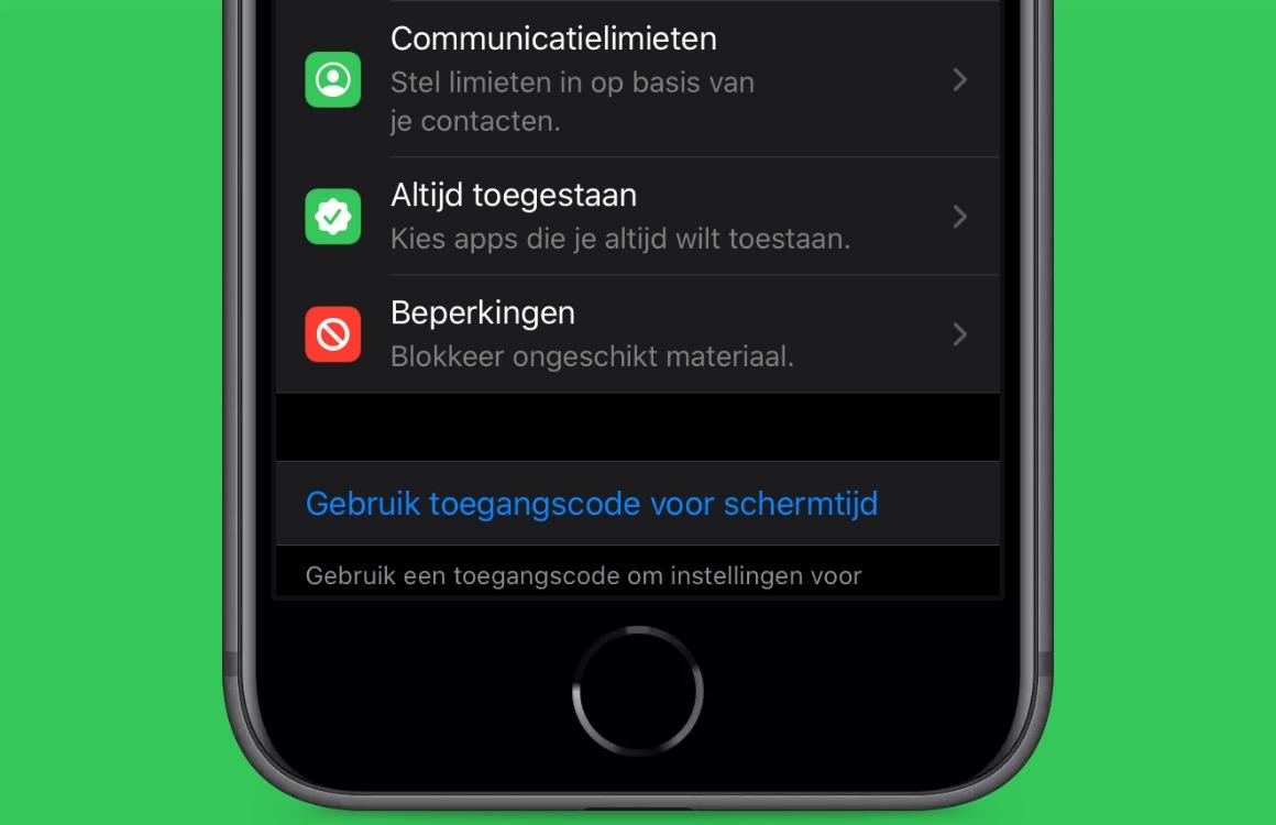 communicatielimieten apple uitgelicht