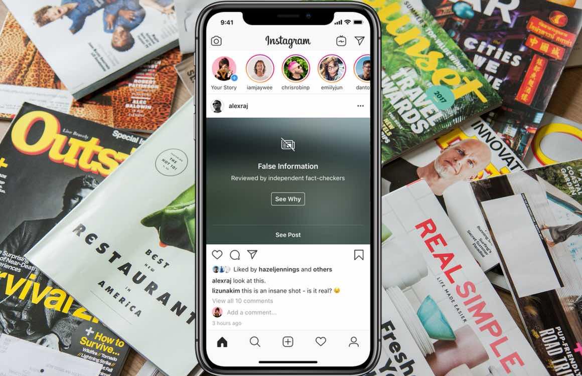 Instagram neemt maatregelen tegen nepnieuws en pestgedrag
