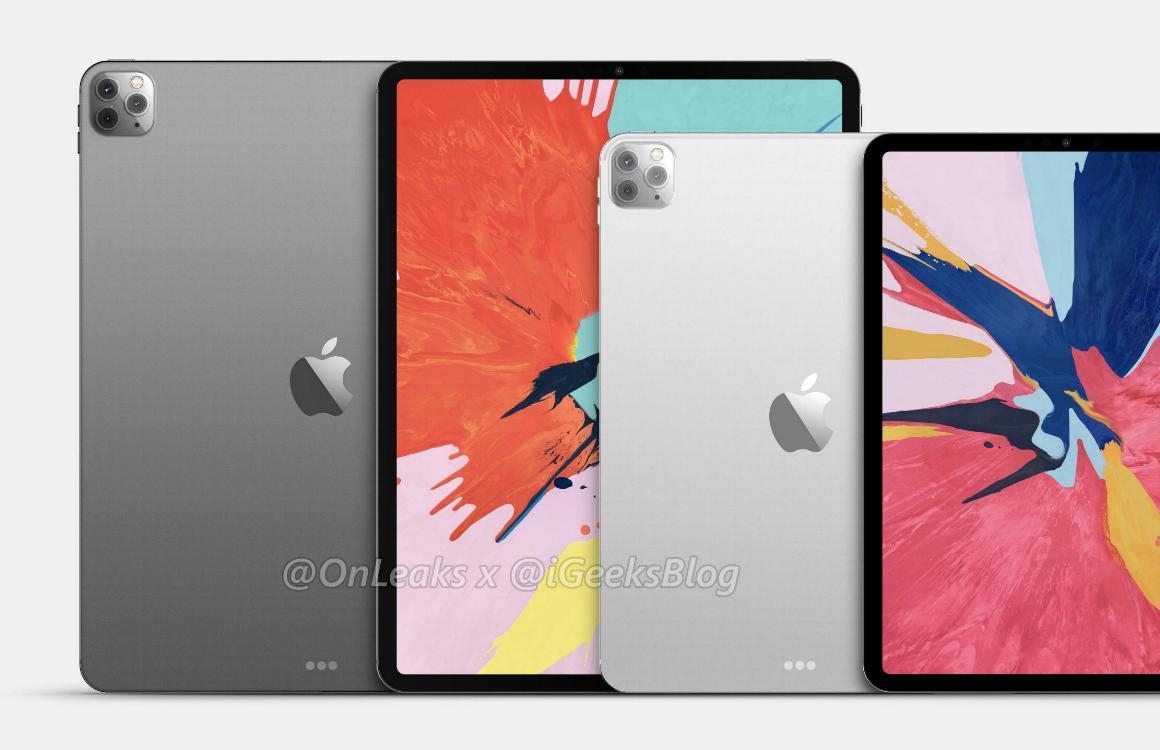 iPad Pro 2020 registratie