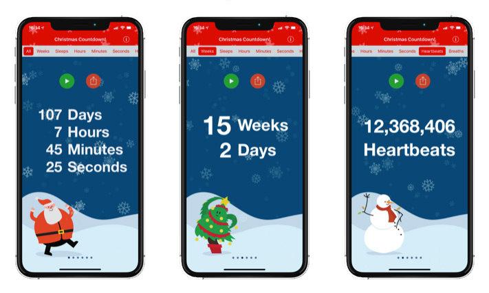 kerst-apps voor ios