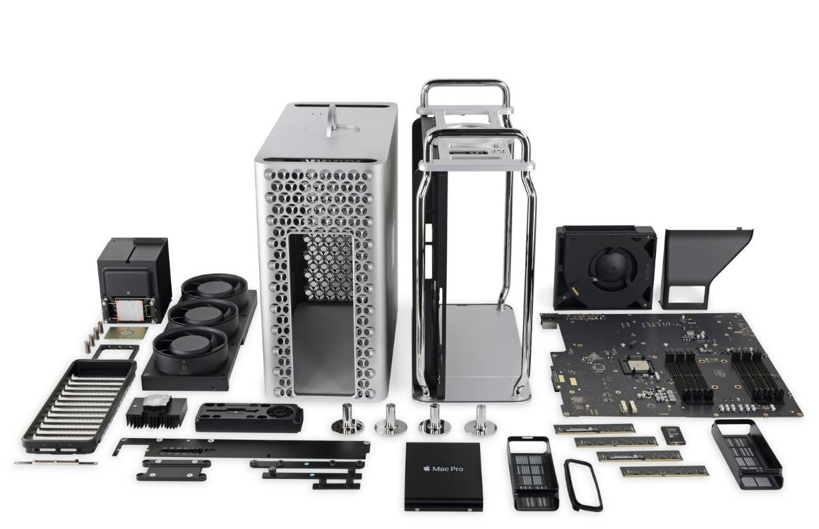 Teardown: Mac Pro is makkelijk te repareren en uit te breiden