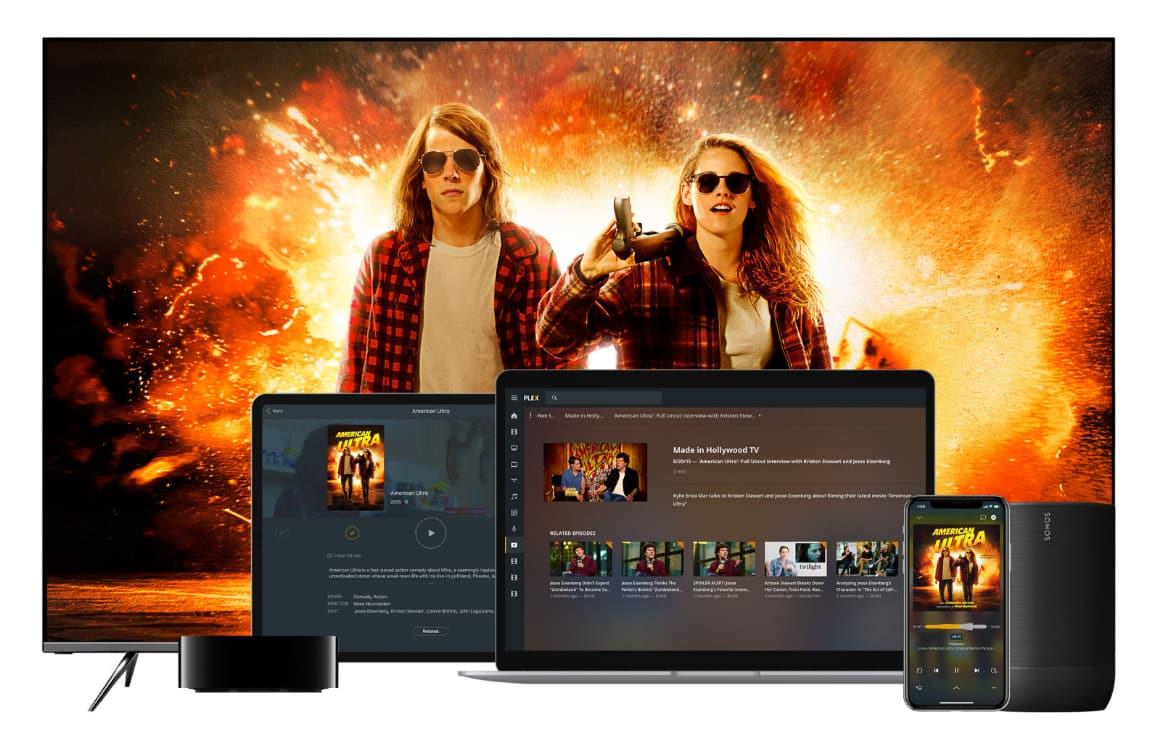 Plex onthult streamingdienst: gratis films en series kijken met reclames