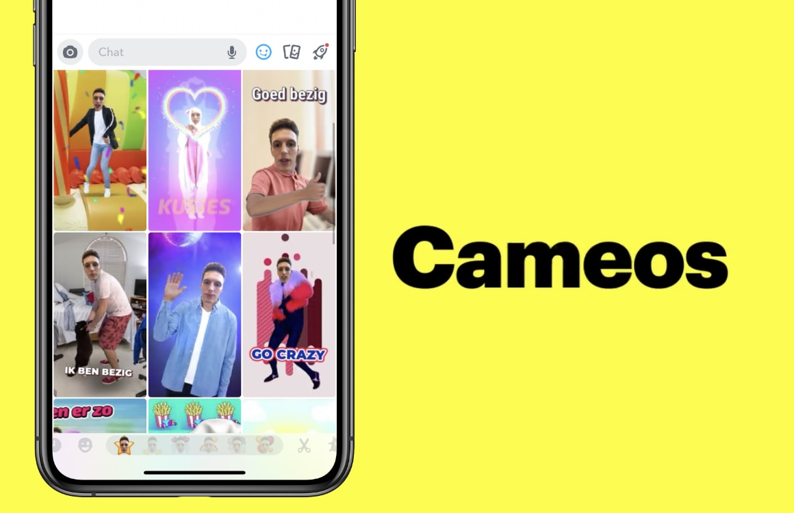 Snapchat Cameo's