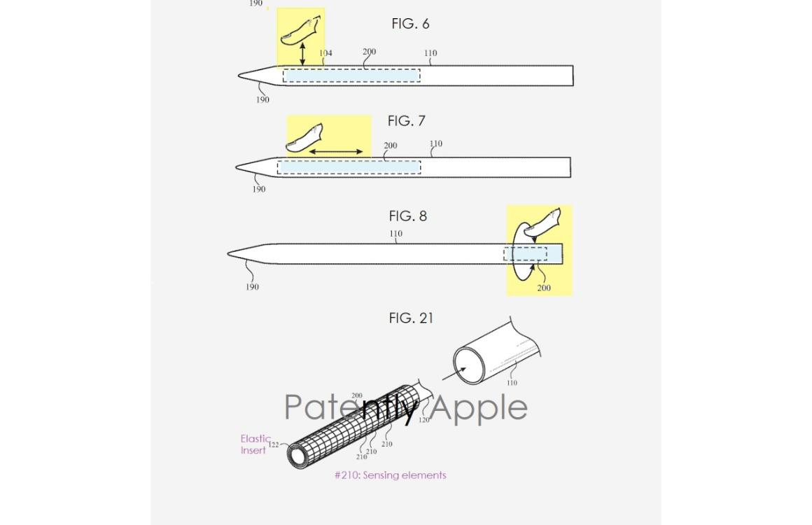 apple pencil 3 touchscreen patent 2