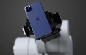 iphone 12 pro blauw uitge