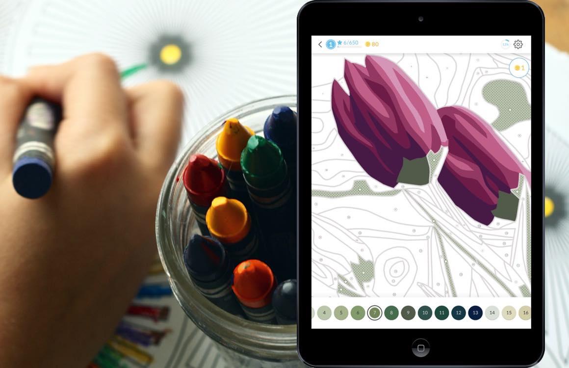 Dit zijn de 5 beste kleurboek-apps voor iPhone en iPad