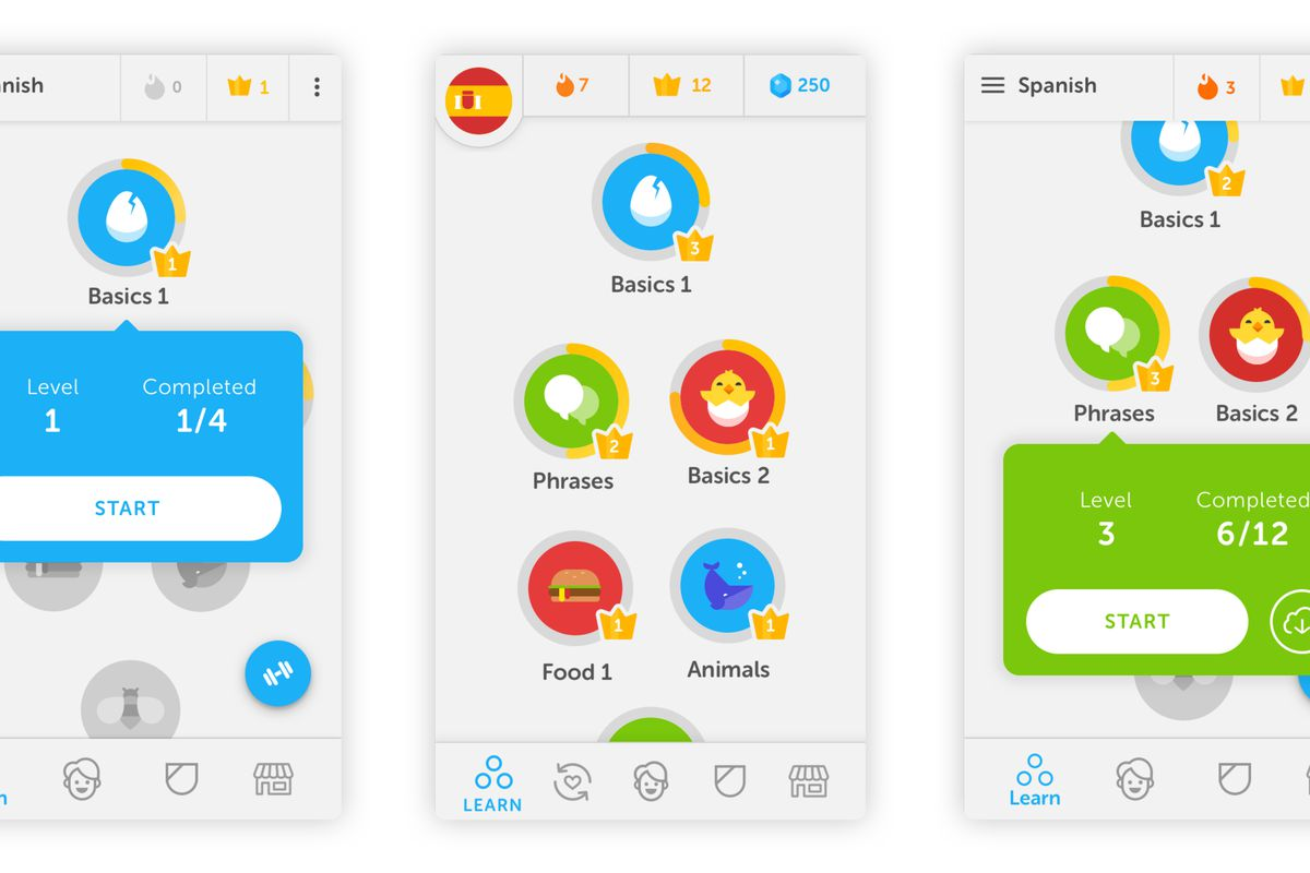 taal leren app
