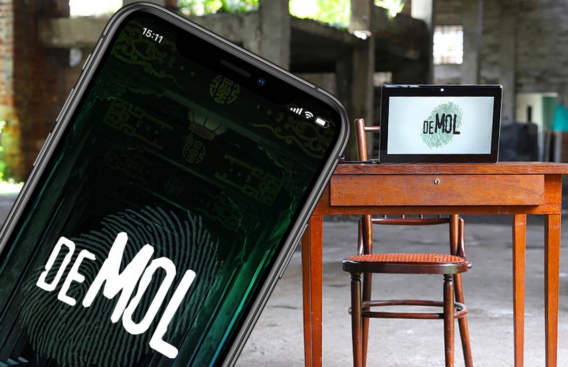 Speel mee met Wie is de Mol? 2020 in de iOS-app