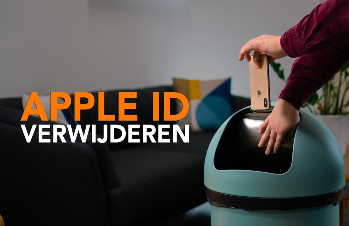 Tip: zo kun je in 3 stappen je Apple ID verwijderen