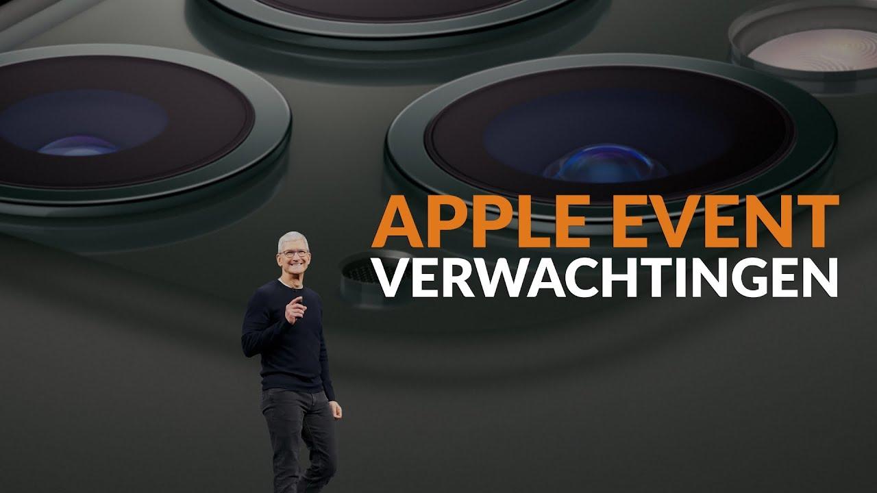 Apple maart-event video: dit zijn onze verwachtingen