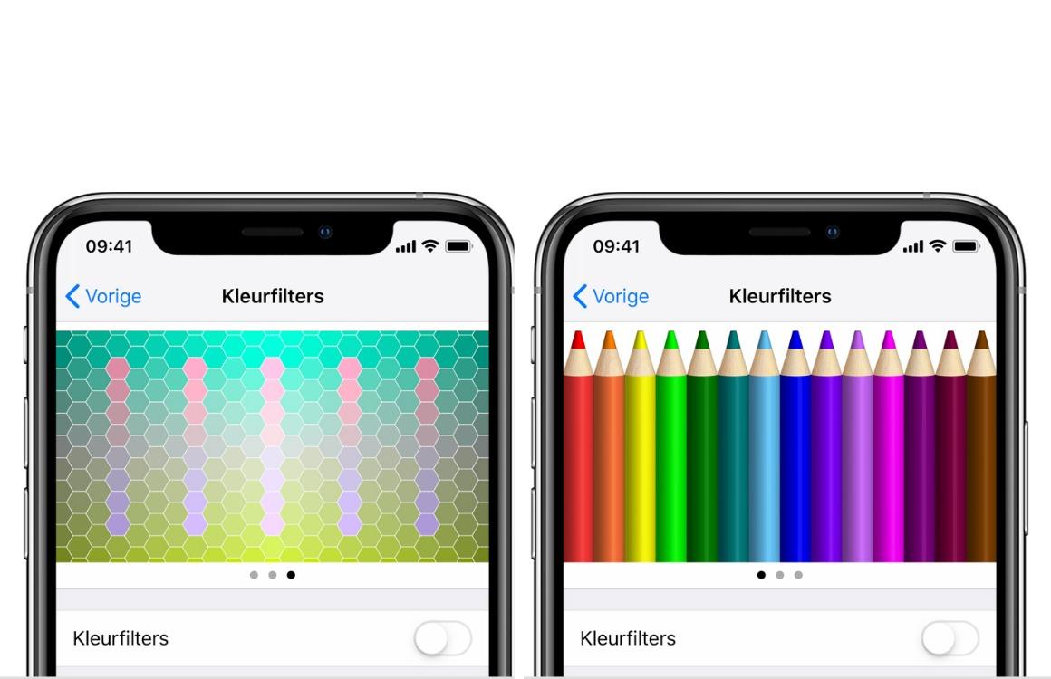 kleurfilters iphone 2