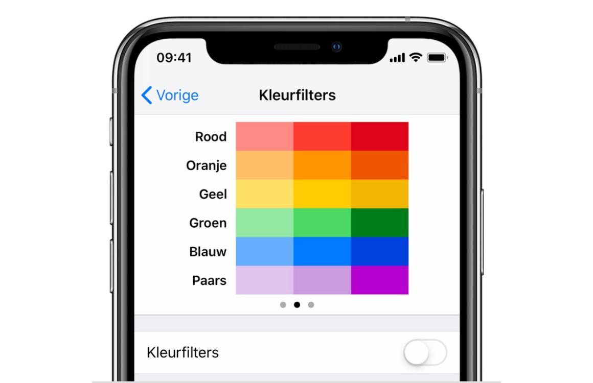 Ben je kleurenblind? Zo zet je kleurfilters aan op je iPhone, iPad en Mac