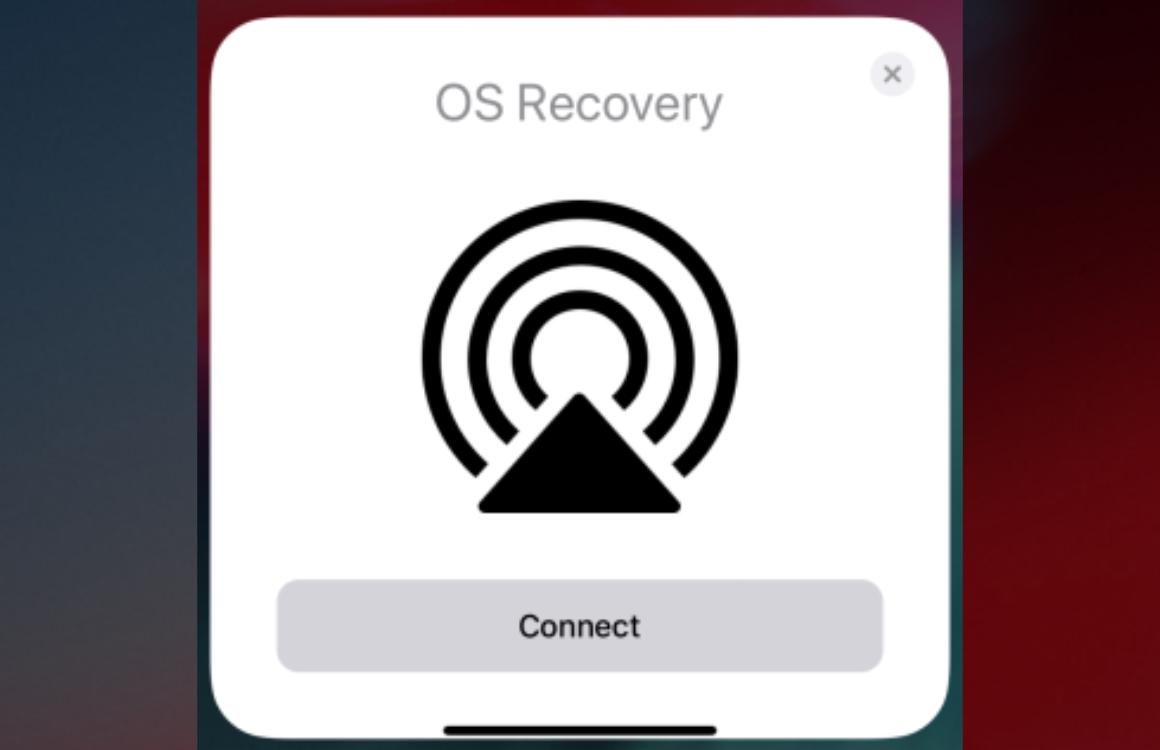 Apple werkt aan OS Recovery: toestelherstel zonder kabeltje of computer