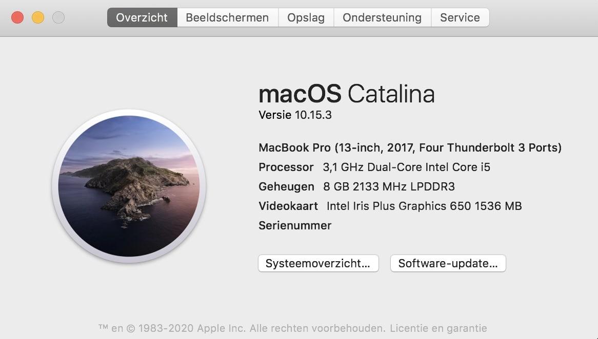 welke MacBook heb ik