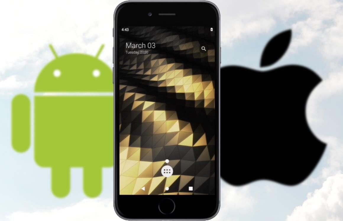 Deze iPhone 7 draait op Android dankzij een nieuwe hack