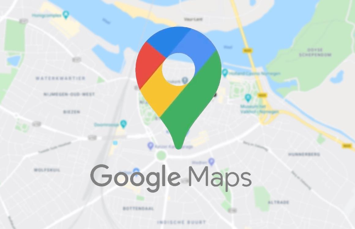 Google Maps helpt je met coronamaatregelen in het ov