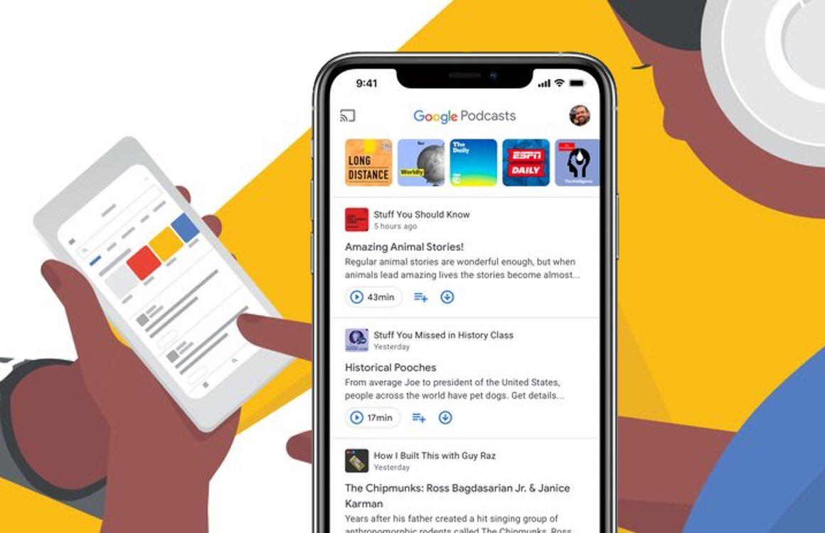 Google Podcasts review: overzichtelijke app voor de podcast-luisteraar