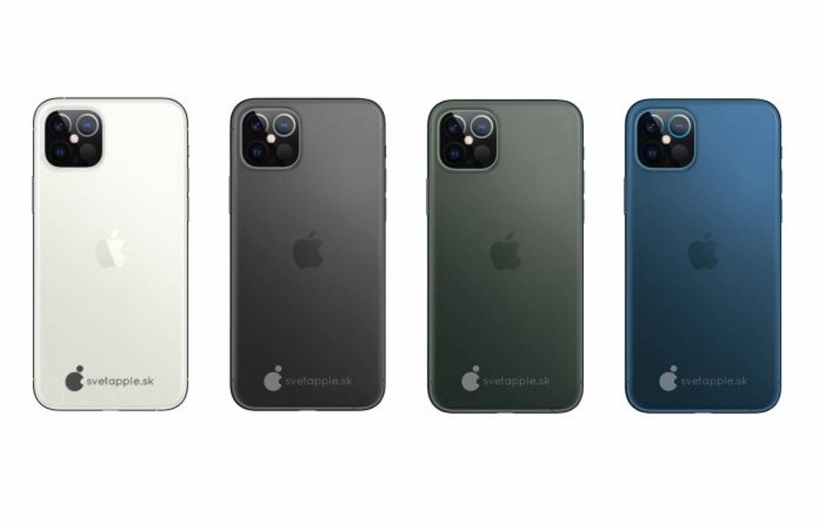 Concept: De iPhone 12 met een LiDAR-dieptesensor