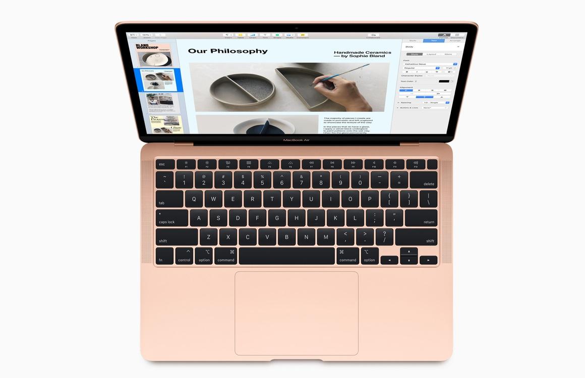 Teardown: Nieuwe MacBook Air typt fijner en is makkelijker te repareren