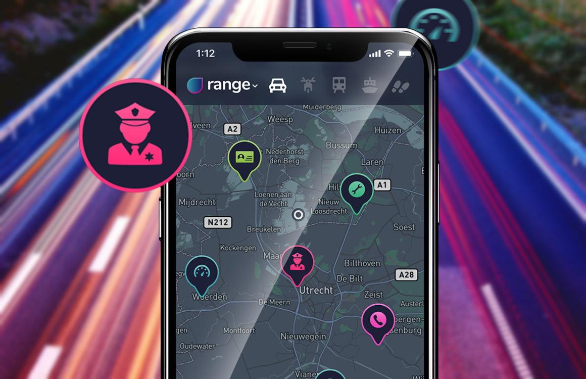 Range: populaire Nederlandse app helpt politiecontroles te omzeilen