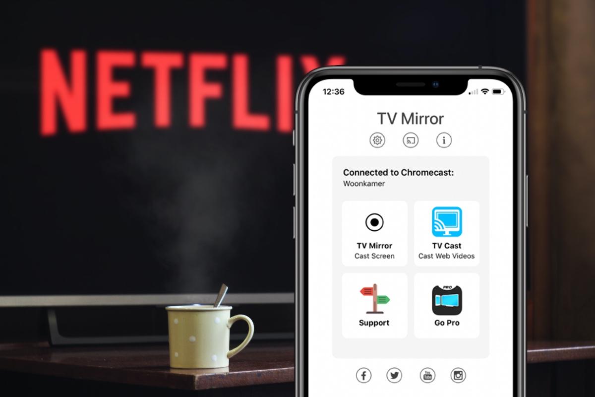 Tip: zo spiegel je een iPhone-scherm op je TV via de Chromecast