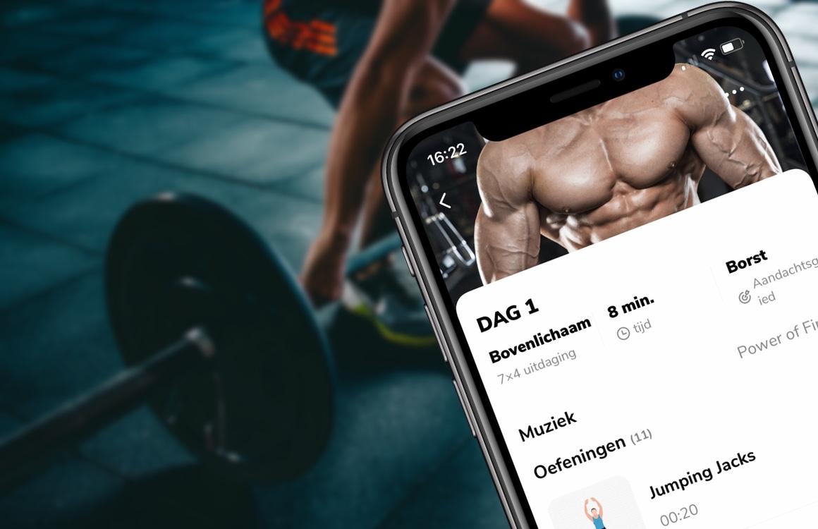 Met deze 7 workout-apps hoef je niet meer naar de sportschool