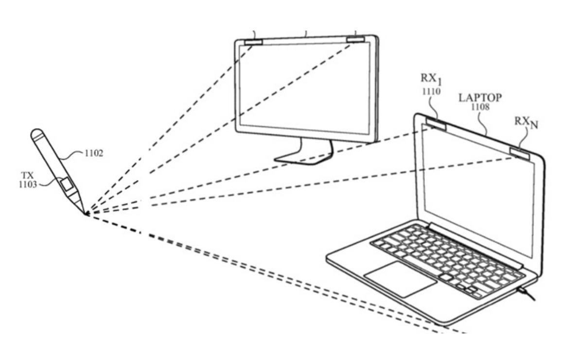 Patent: Apple Pencil werkt in toekomst ook zonder touchscreen
