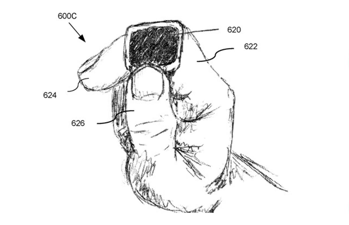 Patent: Slimme ring van Apple met touchscreen en aanwijsfunctie