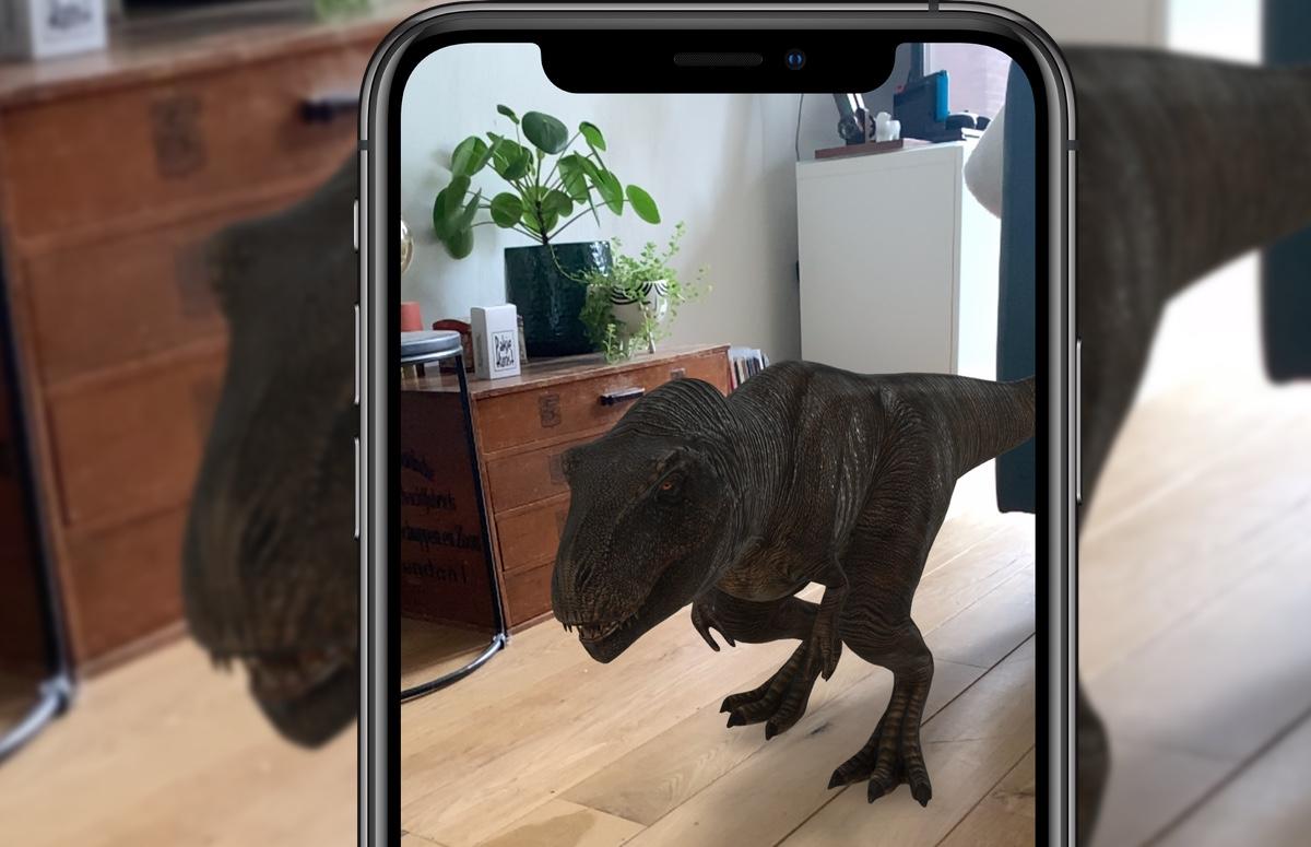 Tip: tover augmented reality-dieren in je huis met je iPhone