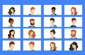 Google Meet weergave
