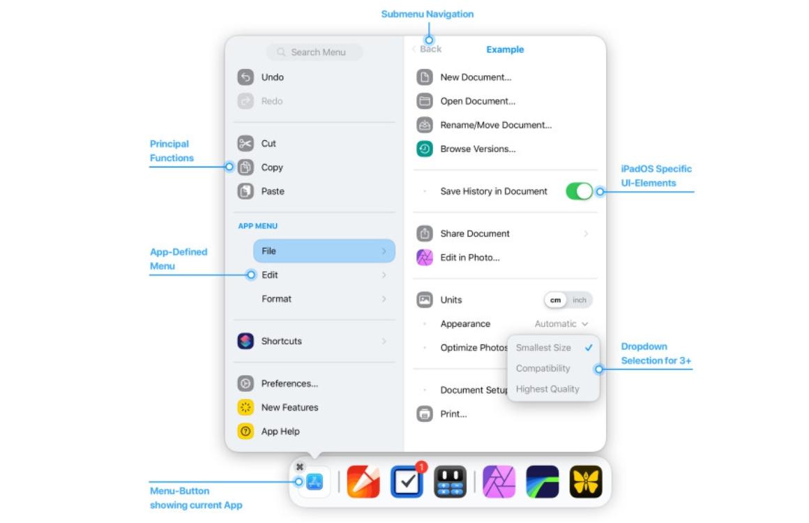 iPadOS 14 concept