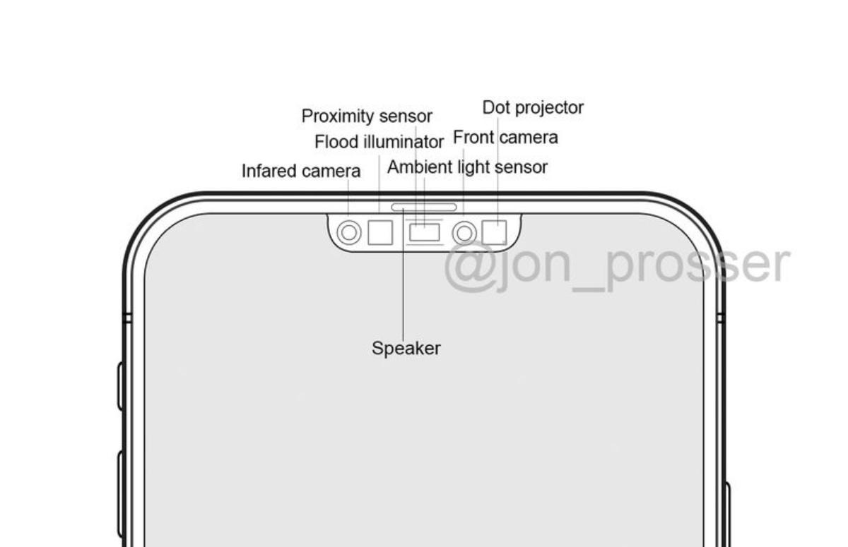 'Zo ziet de kleinere notch van de iPhone 12 eruit'