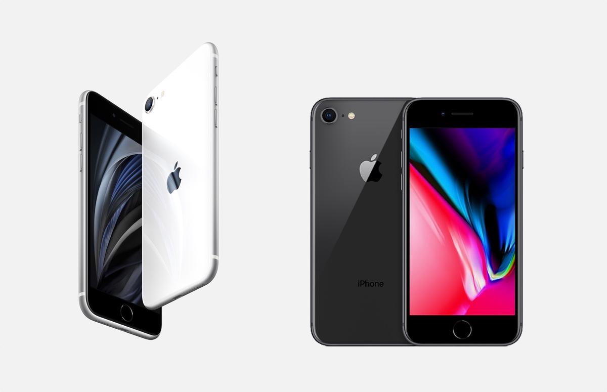 iPhone SE 2020 vs iPhone 8: de 5 belangrijkste verschillen