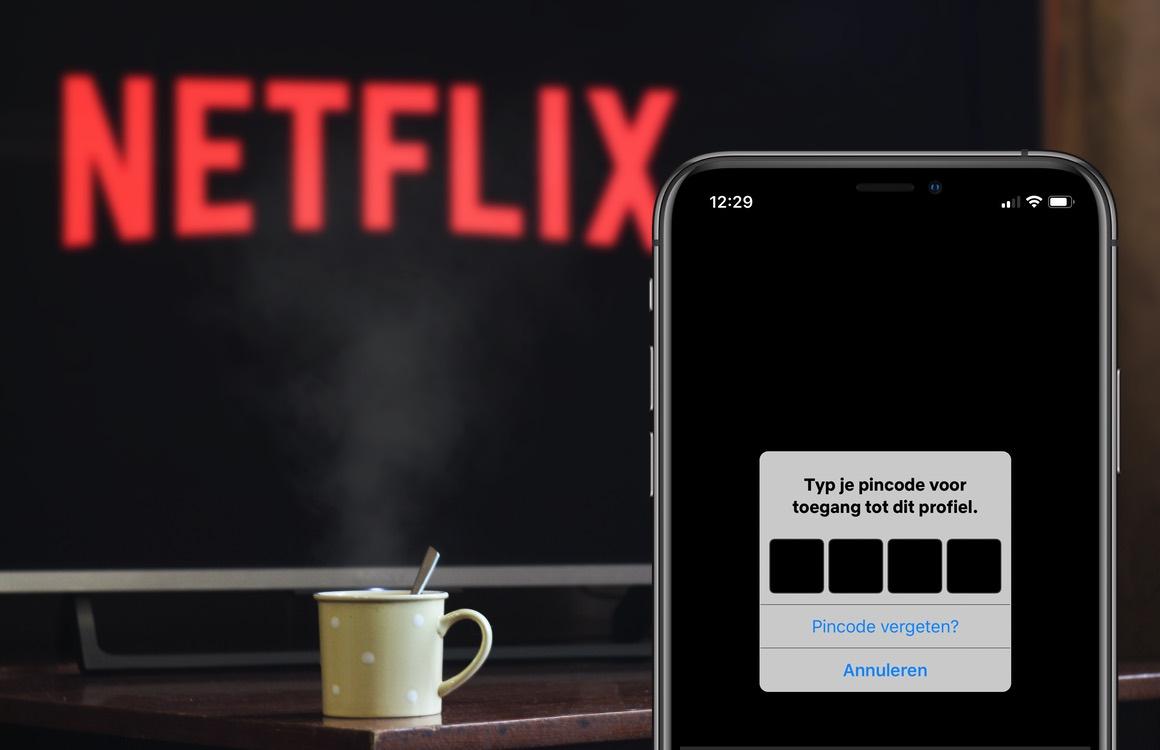 Tip: Zo beveilig jij je Netflix-profiel met een pincode