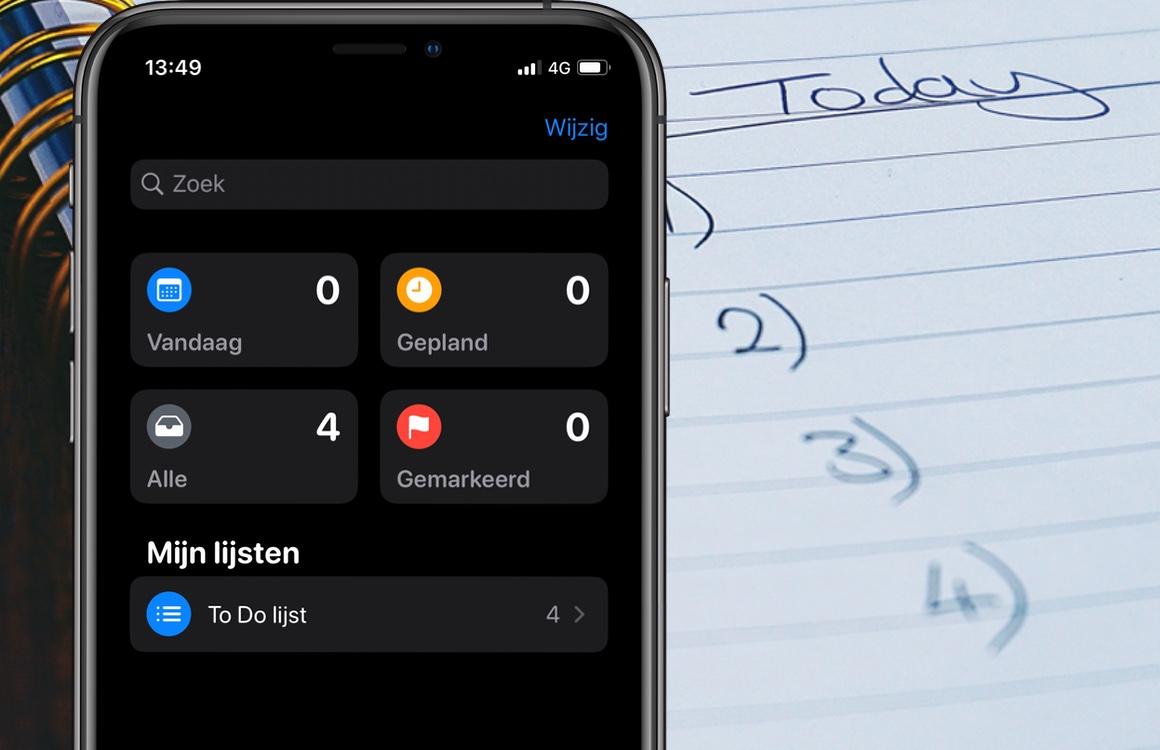 Met deze 7 taken-apps voor iOS heb jij alles op een rijtje