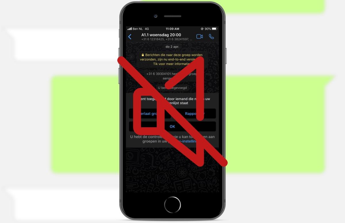 Tip: Maak WhatsApp minder afleidend met stille meldingen