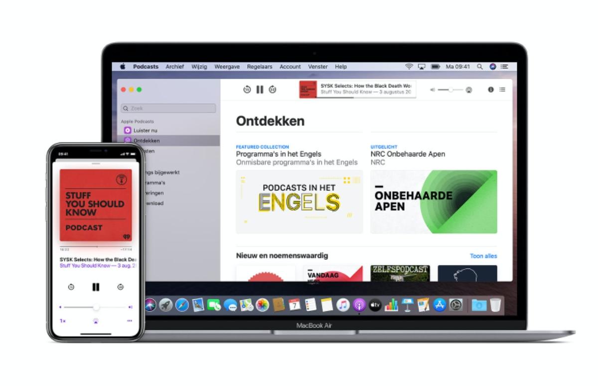 Gerucht: iOS 14 krijgt compleet vernieuwde Podcasts-app