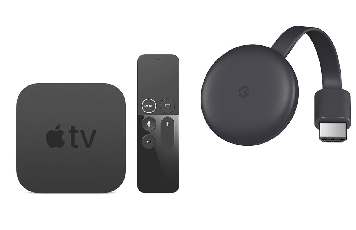 Dit zijn de verschillen tussen Apple TV en Chromecast